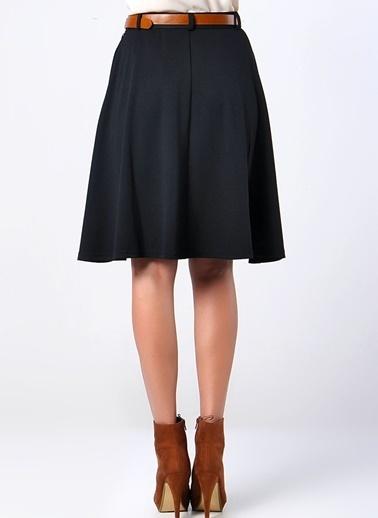 Vero Moda Vero Moda Koyu Kadın Dizüstü Etek Bordo